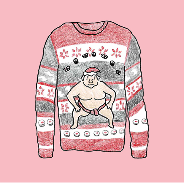ugly christmas sweater ダサいクリスマスセーター