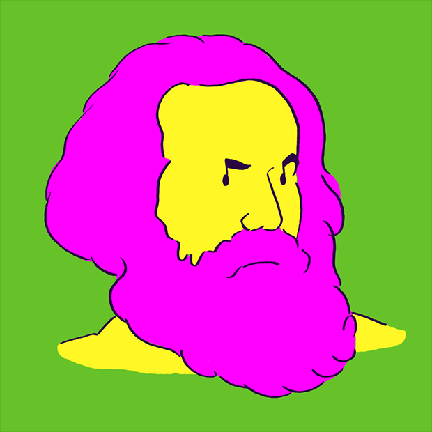 """Karl Heinrich Marx """"Art is always and everywhere the secret confession, and at the same time the immortal movement of its time."""" マルクス「アートはいつでもどこでも行われる秘密の告白であると同時にその時代を象徴する不朽なものでもある」"""