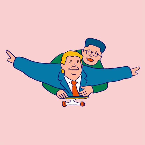 The U web magazine ウェブマガジン イラスト hiroshi masuda vote 投票へ行こう!