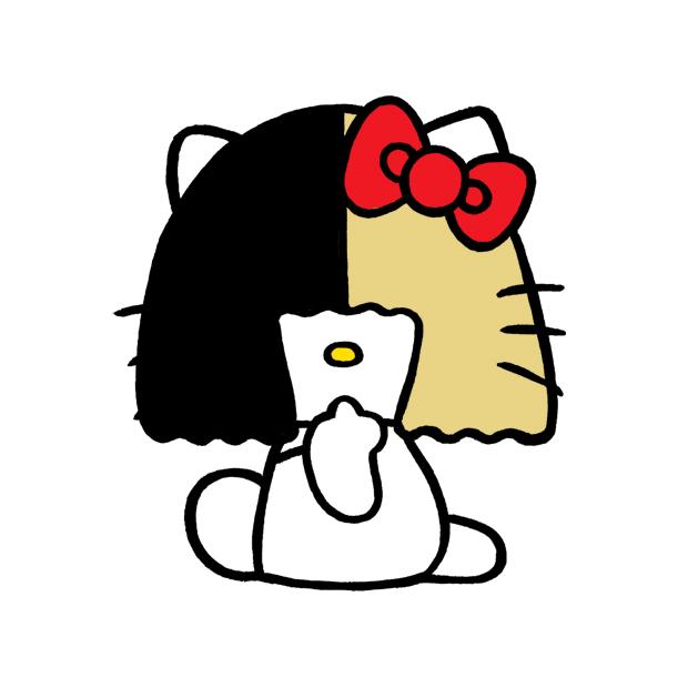 The U web magazine ウェブマガジン イラスト hiroshi masuda Sia hello kitty