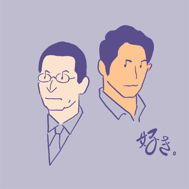 The U ウェブマガジン 好き 相棒 season17|テレビ朝日 イラスト