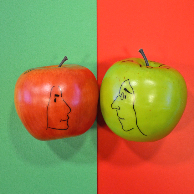 john lennon yoko ono apple drawing ジョンレノン オノヨーコ hiroshi masuda